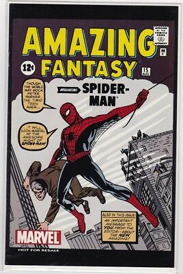 Amazing Fantasy #15 REPRINT - First appearance of Spider-man replica