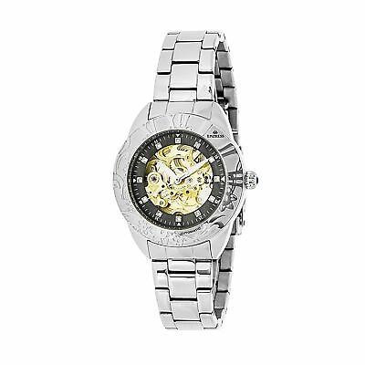 Empress Women's Jeweled Chinese Automatic Movement Case and Sapphire-Coated Mine