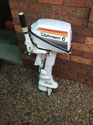 JOHNSON 6 HP OUTBOARD Good Running condition, Only Used As Auxilliary.