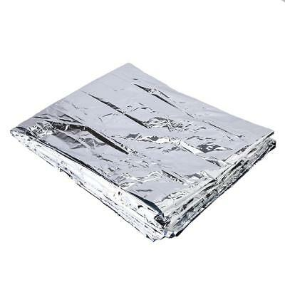 Space Blanket Thermal Thermo Foil Emergency Survival Camping Rescue First Aid OO