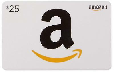 $25 AMAZON GIFT CARD [Email Delivery--FREE and FAST!]