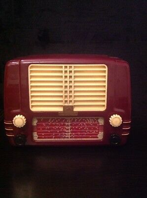 Vintage His Voice Little Nipper Radio From The Gramophone Company LTD