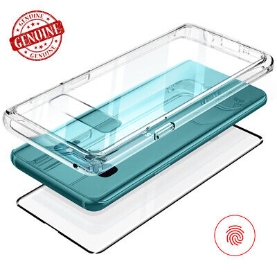 For Samsung Galaxy Note 9 / S9+ Case | Tempered Glass Back Protector TPU Cover