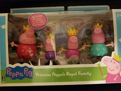 Peppa Pig Prrincess Peppa's Royal Family
