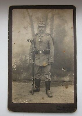 Old Photo of a German Soldier Original.
