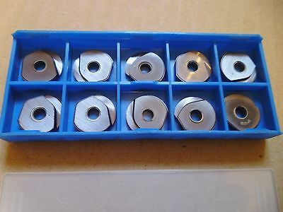 ATI Stellram RG16S SP1019 Ball Nose Milling Carbide Inserts x 10