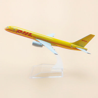 16cm Air DHL Boeing 757 B757 Airlines Aircraft Model Airplane Model Plane Toy