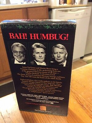 BAH HUMBUG Vhs Transferred To Dvd Format