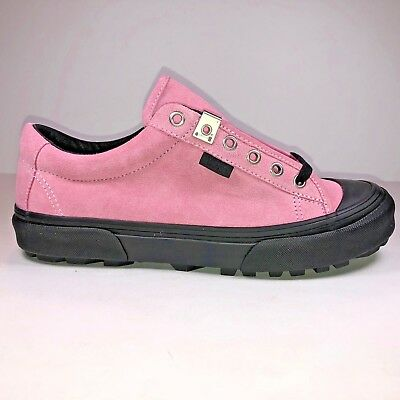 77303bdbf0c1 VANS ALYX Style 29 LX Sea Pink   Black Sneakers Men Size 7 Women Size 8.5