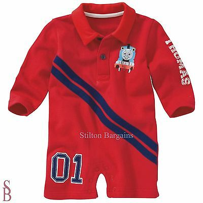 Thomas All-In-One Playsuit - 3-6 Months (68cm) - BNIP