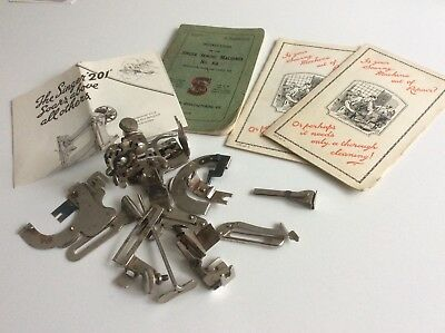 Vintage Singer Sewing Machine Memorablia & Sewing Machine  Parts