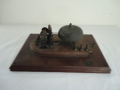 Rare Antique 1860's/70's FIRE ALARM BELL TELEGRAPH REGISTER?