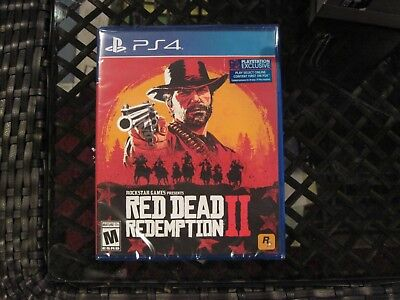 Red Dead Redemption 2 - PS4 Bundle Game Only, New, Sealed