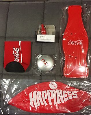 COCA-COLA /COKE - NEW COLLECTION x 5 ... KEYRING ++++
