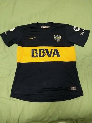 timeless design 47090 705ae VINTAGE AUTHENTIC NIKE Boca Juniors Home Shirt 2012-2013 Size L #2 Schiavi