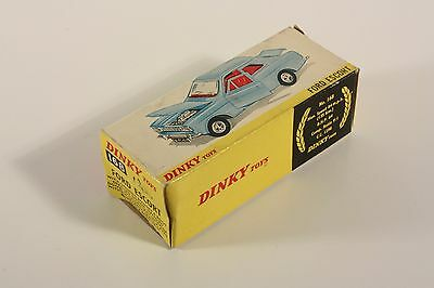 Dinky Toys 168, Ford Escort, only Box                              #ab1952