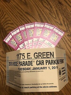 Tickets to The 130th Tournament of Roses Parade on Tuesday, 1/1/2019 *Ships Free