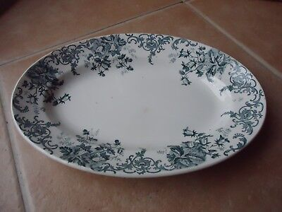 Assiette faience St Amand (Nord)