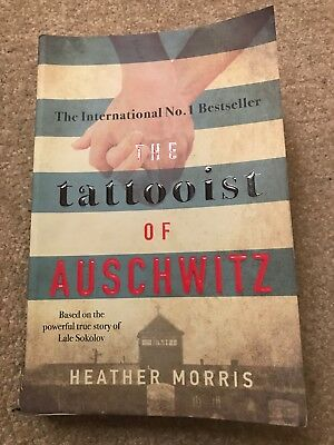 The Tattooist Of Auschwitz Book Heather Morris Paper Back Used
