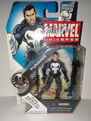 Marvel Universe Punisher Action Figure # 20 new signed by box Artist Frank Cho