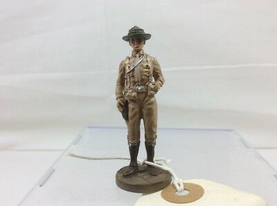 Franklin Mint WWI Metal Toy Soldier 5th Marines 1st Lt. Detailed Quality Sample
