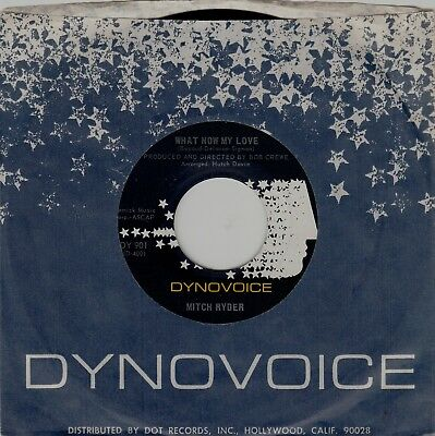"""Mitch Ryder 45 rpm """"What Now, My Love"""" b/w """"Blessing In Disguise"""""""