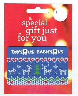 TOYS R US Gift Card - Christmas Holiday- Collectible/No $ Cash Value ~ FREE SHIP