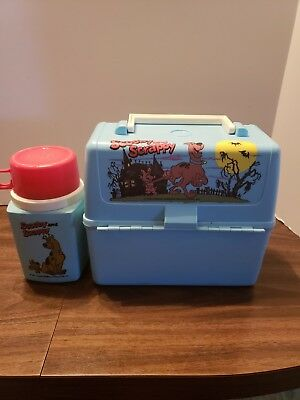 Scooby And Scrappy Flintstones Hanna Barvera Productions Lunch Box