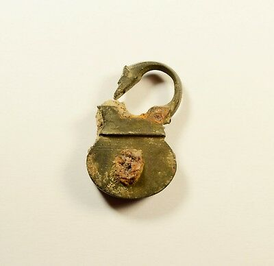 Ancient Bronze Padlock - Found With Metal Detector