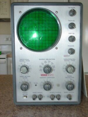 EICO Oscilloscope Model 427 DC General Purpose with Instruction Manual