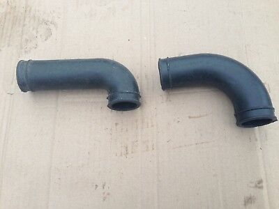 Air duct for motorcycle URAL(650cc). Intake rubbers. Set= left-hand + right-hand
