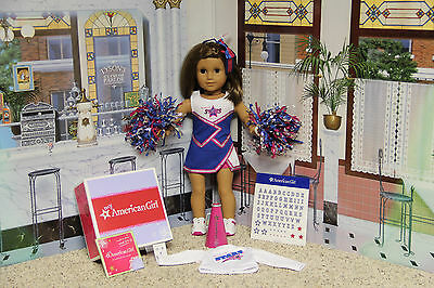 """American Girl """"2-in-1 Cheer Gear Outfit"""" - COMPLETE - NIB"""