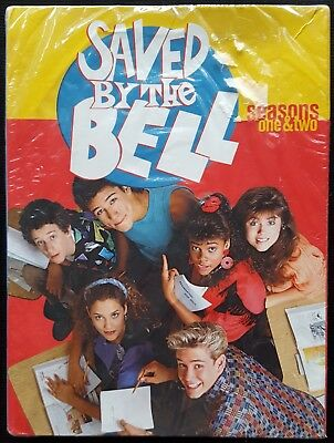 Saved By the Bell - Seasons 1 & 2 (DVD, 2003, 5-Disc Set) NEW/FACTORY SEALED