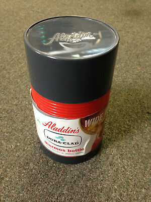 Vintage- Aladdin's Dura Clad- Thermos Bottle- Pint size- Model 2640-NEW