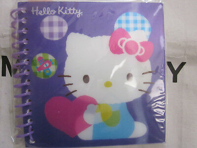 2011 Hello Kitty Sanrio Mini Spiral Notebook New Sealed Journal Rare Lenticular