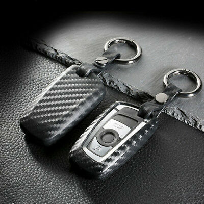 Carbon Fiber Type TPU Soft Key Fob Case Cover For BMW 1 3 4 5 6 7 X1 X3 Series