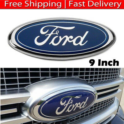 "2004-2014 Ford F-150 Blue Oval Front Grille Or Rear Tailgate 9"" Inch Emblem"