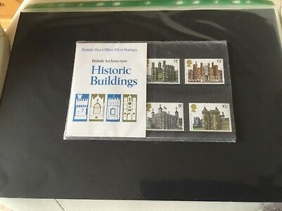 British Archecture Historic Buildings presentation pack 1978