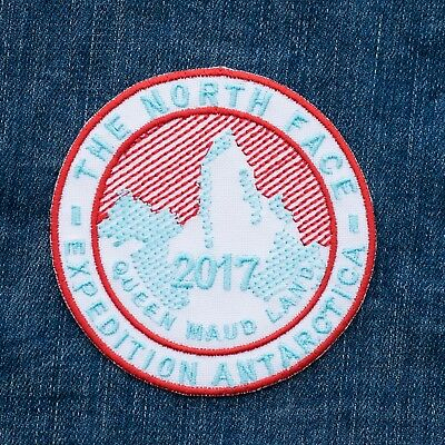 Embroidered Patch The North Face Expedition Antarctica 2017 Queen Maud Land