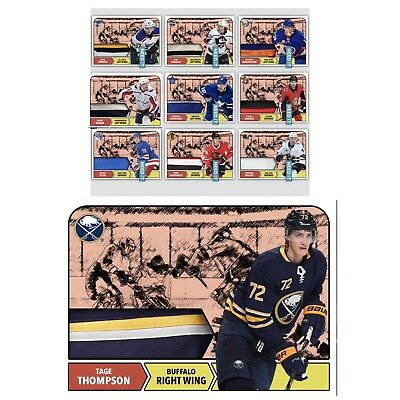 18-19 TOPPS 1968-69 RELICS COMPLETE SET OF 10 CARDS NHL Skate Digital