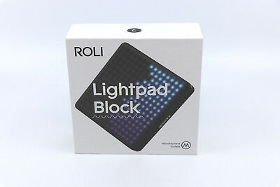 Roli Lightpad Block M - Absolute Newest Model Factory Sealed From Apple