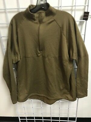 Halys SEKRI PCU Level 2 Grid Fleece Shirt LARGE (L) Coyote Brown SOCOM NSW SEAL