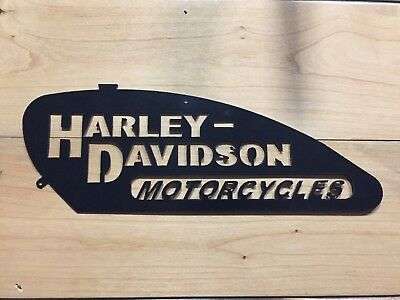 Large Harley Davidson Metal Wall Art
