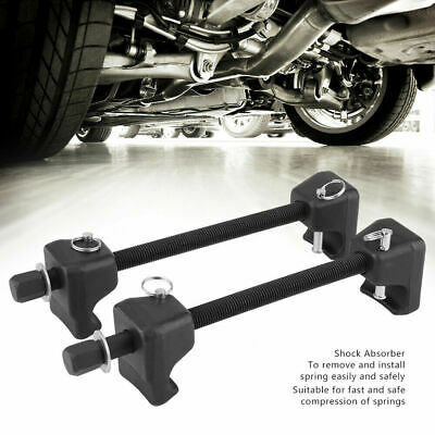 Coil Spring Compressor Pair of  Suspension Clamps 2x380mm Heavy Duty Strut CS007