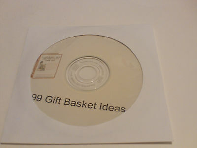 99 Gift Basket Ideas – Create Your Own Unique Gift Baskets PDF eBook on CD
