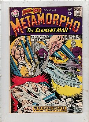 Brave and The Bold #57 VG 1964-1st appearance & origin of Metamorpho