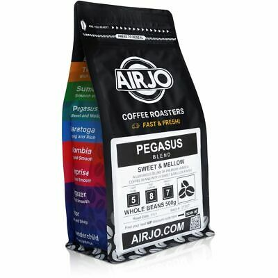 AIRJO Coffee Beans - Fresh Roasted Every Day - 100% ORGANIC - Free Shipping