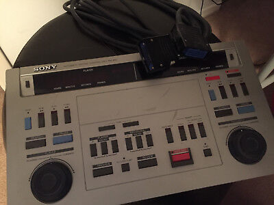 SONY RM-440 Professional Video Automatic Editing Control Unit for Video Cassette