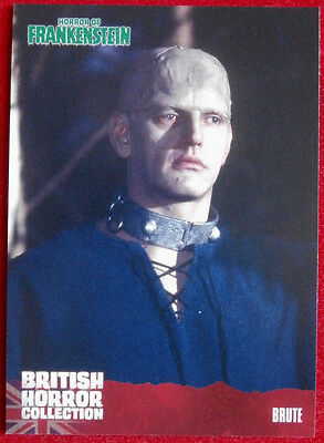 BRITISH HORROR COLLECTION - Horror of Frankenstein - DAVID PROWSE - Card #27
