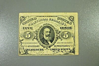 5c 3rd Issue Fractional Currency Fr 1238